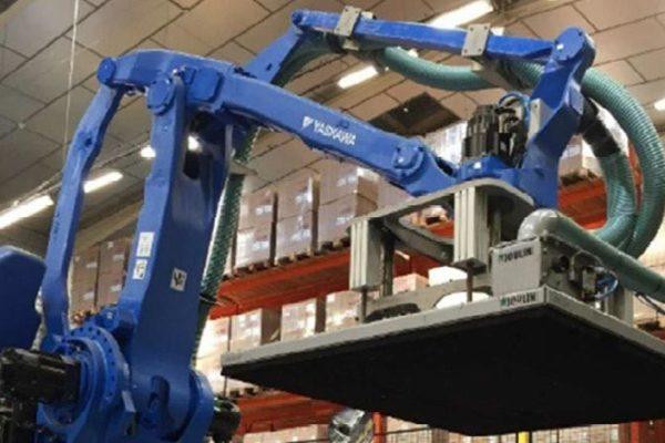 Modernisation sur le site de Chaumesnil : Changement de robot